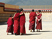 Travel Writing: Monks in Zhongdian, China